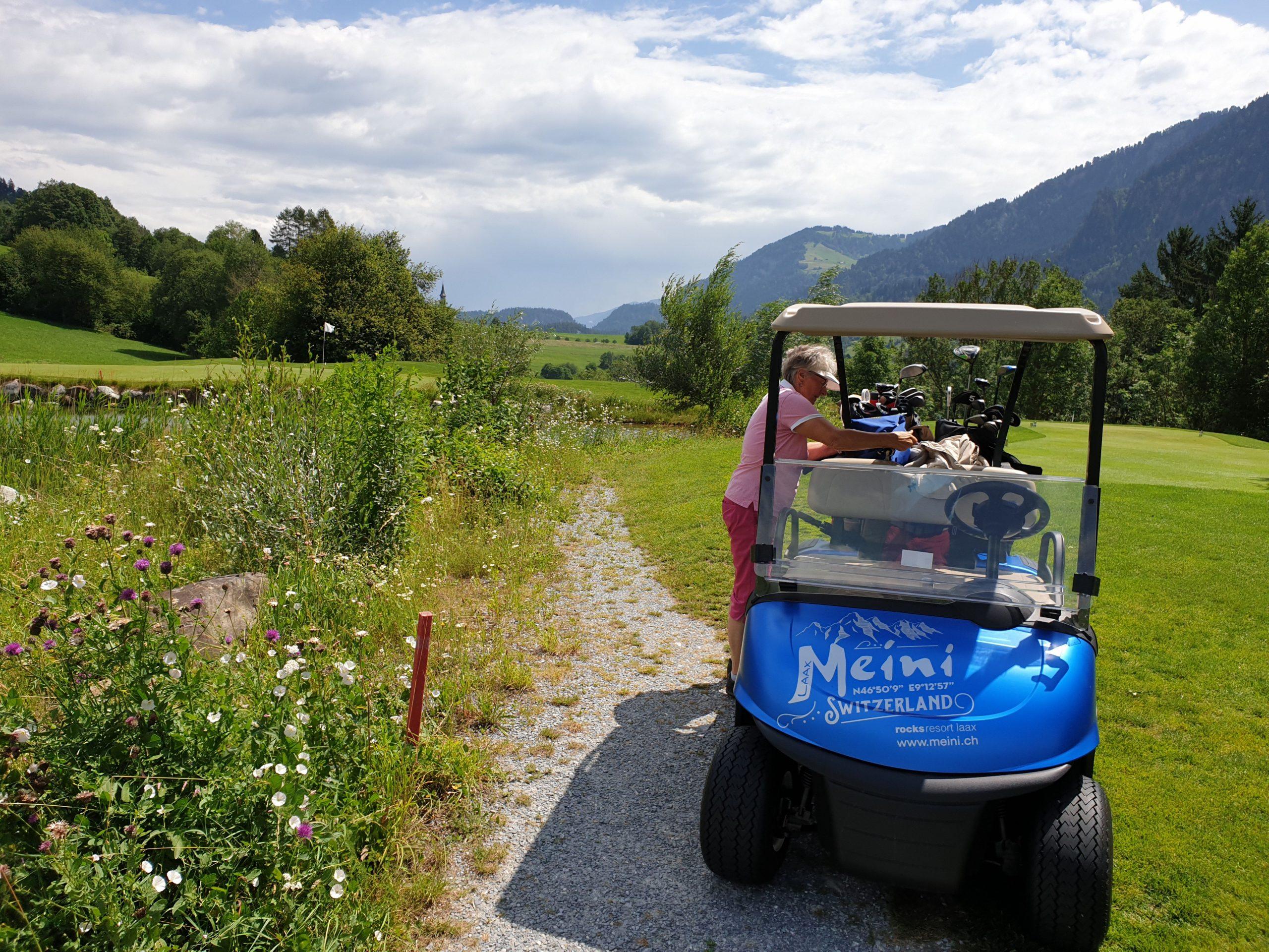 Buna Vista Golf Sagogn Schweiz